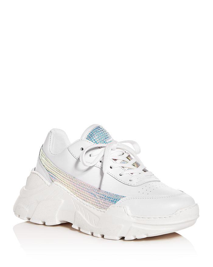 Joshua Sanders - Women's Zenith Low-Top Platform Sneakers