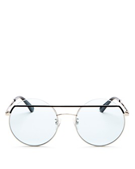 McQ Alexander McQueen - Women's Iconic Round Sunglasses, 55mm
