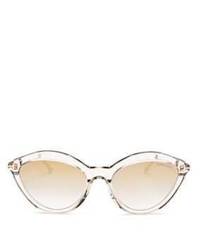 Tom Ford - Women's Cat Eye Sunglasses, 57mm