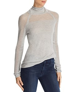 J Brand - Carlyn Openwork Turtleneck Sweater