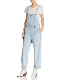 Levi's - Baggy Denim Overalls in Big and Smalls