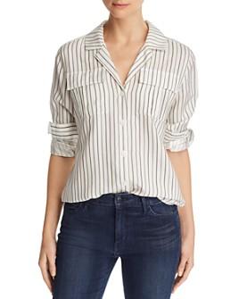 J Brand - Peyton Striped Utility Shirt
