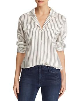 b3cb23bf0b9814 J Brand - Peyton Striped Utility Shirt ...