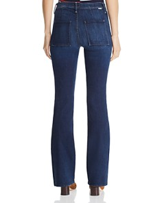 MOTHER - The Slant Pocket Bootcut Jeans in Up Your Alley