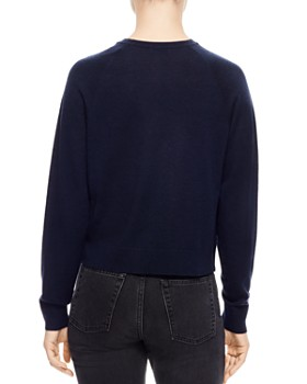 Sandro - Ana Ruched Raglan Sweater