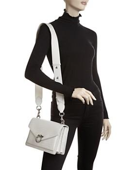 Rebecca Minkoff - Jean Medium Croc-Embossed Leather Shoulder Bag