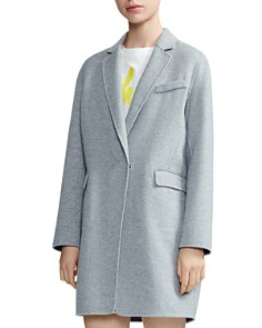 Maje - Galami Double-Faced Wool Coat