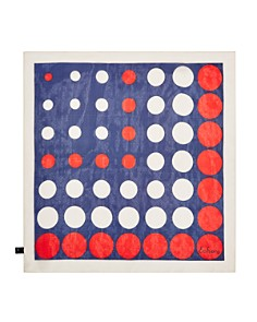 Echo - Polka Dot Silk Scarf