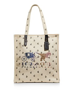 COACH - Reverse Rexy & Carriage Tote