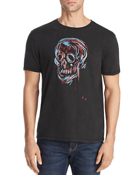26846afdab7fe2 John Varvatos Star USA - Skull Sketch Graphic Tee - 100% Exclusive