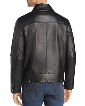 John Varvatos Star USA - Marley Zip-Front Leather Jacket