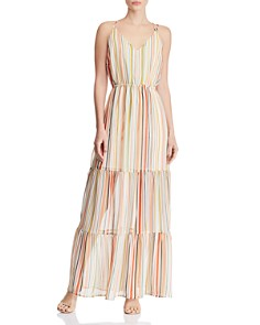 Jack by BB DAKOTA -  Tiered Striped Maxi Dress