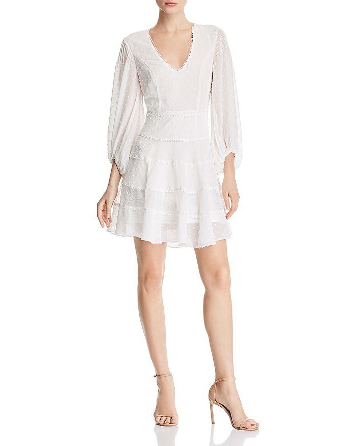 Bardot - Mae Swiss-Dot Dress