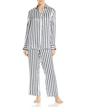 Jasmine And Will Silk Long Pajama Set