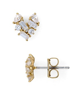 Nadri - Valentine's Day Cluster Heart Earrings