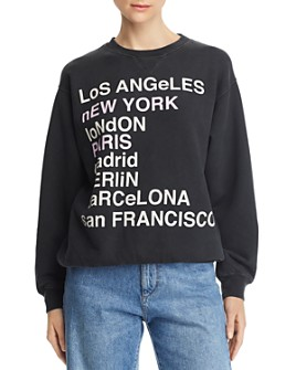 Anine Bing - City Love Sweatshirt
