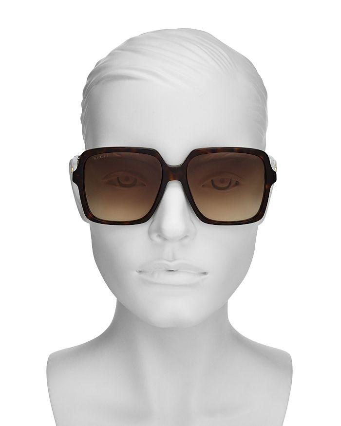 ff0fee83bf Gucci - Women s Web Oversized Square Sunglasses