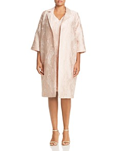 Marina Rinaldi - Tetiana Jacquard Duster Coat