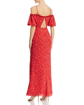 Fame and Partners - The Willy Cold-Shoulder Maxi Dress