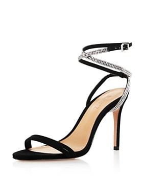 SCHUTZ - Women's Carmecita Crystal-Embellished High-Heel Sandals