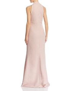 Eliza J - Cross-Neck Textured Gown