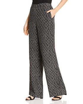 Lafayette 148 New York - Columbus Printed Wide-Leg Pants