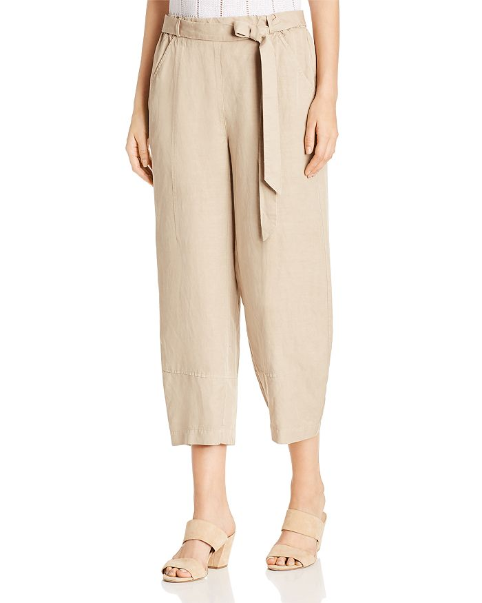 Eileen Fisher Petites - Cropped Ankle Pants