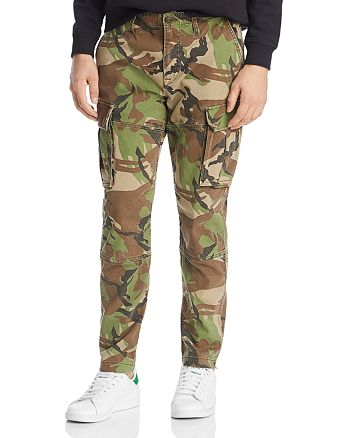 Hudson - Skinny Fit Cargo Pants in British Camo