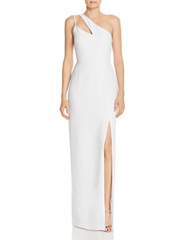 Laundry by Shelli Segal - One-Shoulder Gown