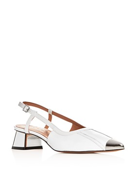 Marni - Women's Slingback Block-Heel Sandals