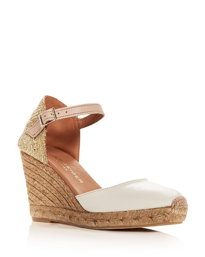 Kurt Geiger - Women's Monty Wedge Platform Espadrille Pumps