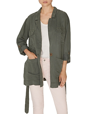 Sanctuary  SAFE TRAVELS BELTED UTILITY JACKET