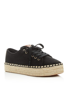Tretorn - Women's Eve Low-Top Platform Espadrille Sneakers