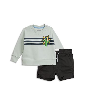 Sovereign Code - Boys' Collide + Gateway Sweatshirt & Drawstring Shorts Set - Baby