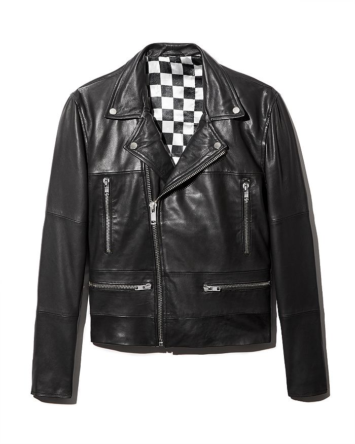Deadwood Classic Leather Motorcycle Jacket Bloomingdale S