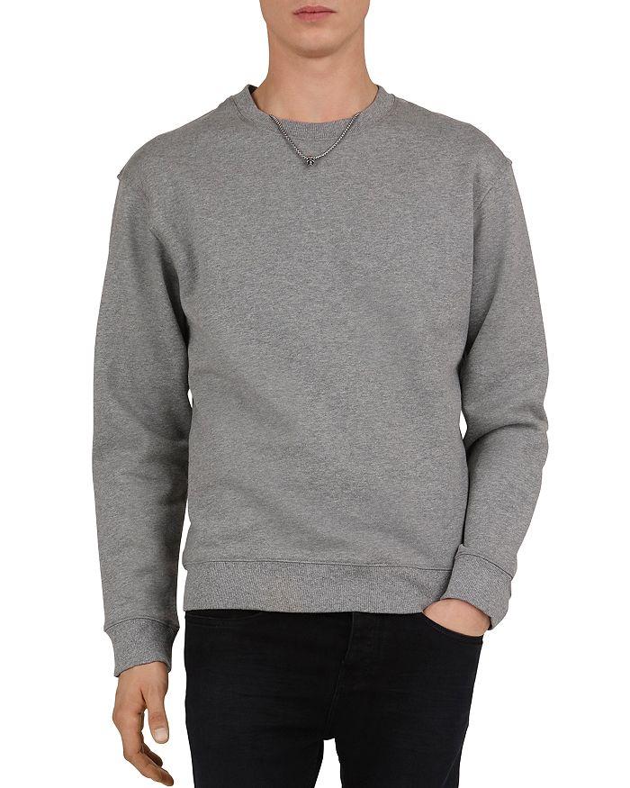 The Kooples - Fleece Sweatshirt with Removable Necklace