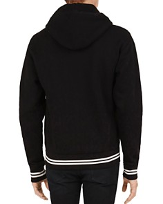 The Kooples - Embroidered Fleece Zip-Front Hoodie