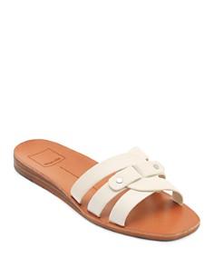 Dolce Vita - Women's Cait Leather Slide Sandals