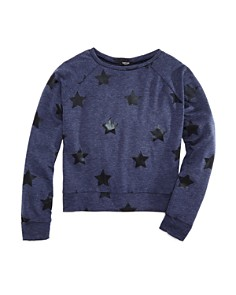 Terez - Girls' Star Sweatshirt - Big Kid