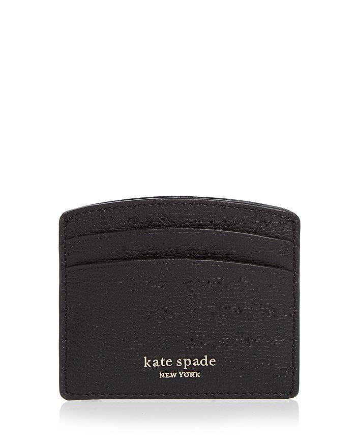 kate spade new york - Pebbled Leather Card Holder
