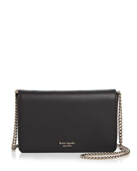 39abf60d8d0 kate spade new york - Medium Chain Wallet Leather Crossbody ...