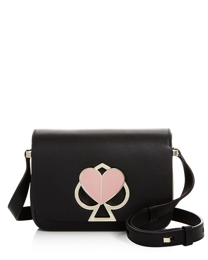 kate spade new york - Small Flap Leather Shoulder Bag