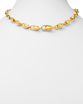 """Marco Bicego - 18K Yellow Gold Legami Link Collar Necklace, 18"""" - 100% Exclusive"""