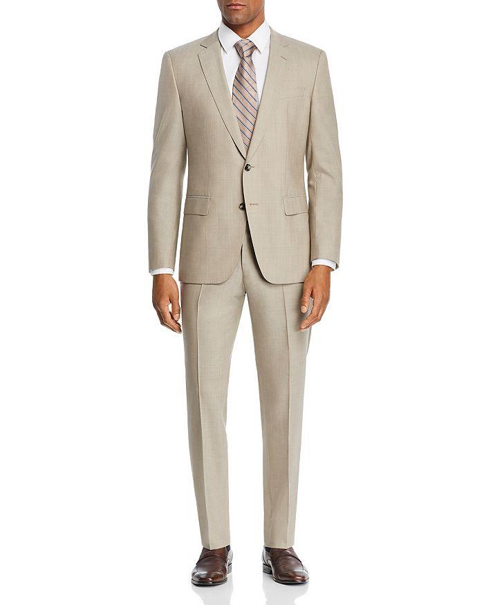 BOSS Hugo Boss - Huge/Genius Solid Slim Fit Suit
