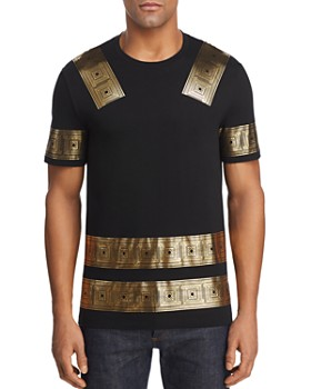 Versace Collection - Metallic Border Tee