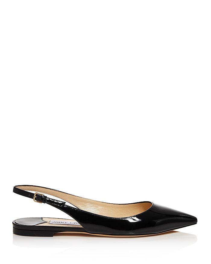 41c7617729c Jimmy Choo - Women s Erin Patent Leather Slingback Flats