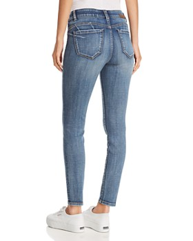 JAG Jeans - Cecelia Skinny Distressed Jeans in Island Blue