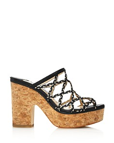 Jimmy Choo - Women's Dalina Caged Platform Sandals