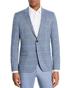 cb27df697 HUGO - Arti Plaid Slim Fit Sport Coat ...