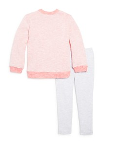 Splendid - Girls' Tonal Color-Block Sweatshirt & Leggings Set - Little Kid